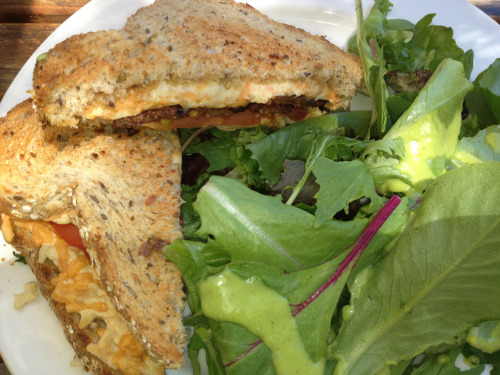 Gourmet Grilled Cheese @ Cafe Blossom UWS