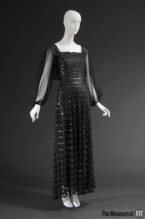 Evening Dress Jeanne Lanvin, 1935 The Museum at FIT
