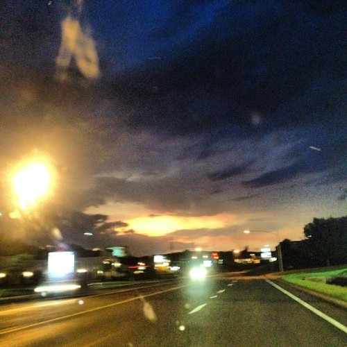 Even through the storm, the sun will still shine!! 💦💨☀☔🌙⚡🌀 (Taken with Instagram)