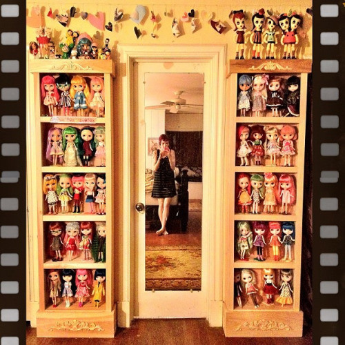 mellysays:  Yes I have a little bit of a #BlytheDoll collecting obsession. by Sherri DuPree Bemis on Flickr.
