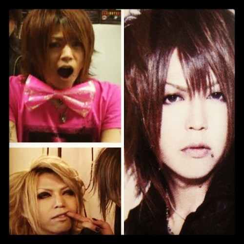 Happy Birthday JinJin 22.7.2012 。゚(ノ∀`)゚。 #japanese #jrock #Screw #Jin (Taken with Instagram)