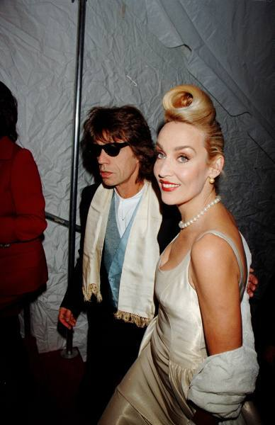 Mick Jagger & Jerry Hall, 1996