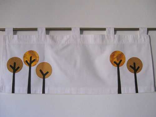 Tiny Tree Valance - Fall Colors by creativeneurosis on Flickr.