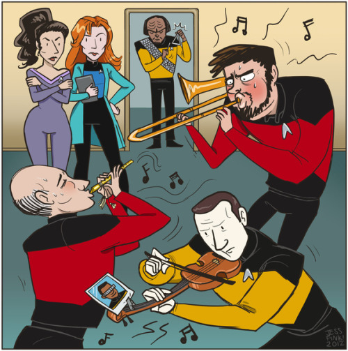 Captain Picard's Lonely Hearts Club Band