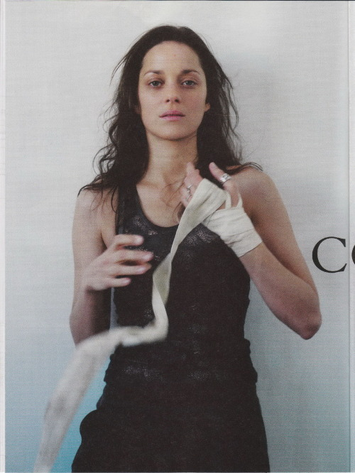 gasstation:  Marion Cotillard - Obsession, May 2012
