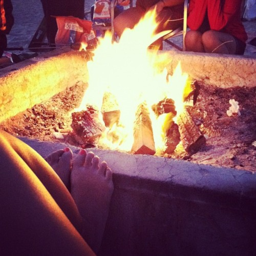 🔥#bonfire #hot #summernights #roastinweenies  (Taken with Instagram)