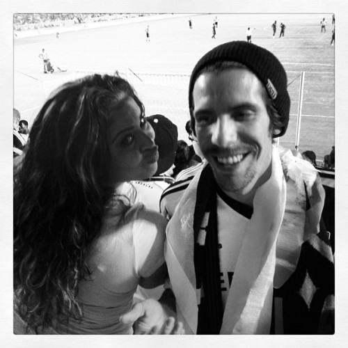 Hey stranger ha (Taken with Instagram at Los Angeles Galaxy)