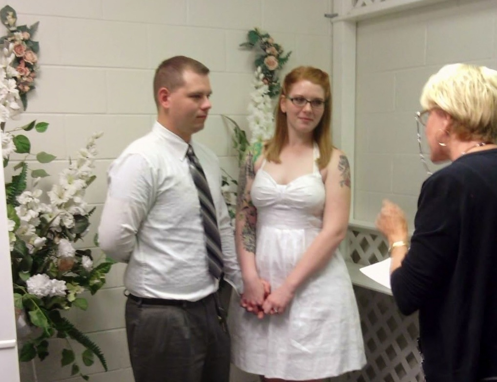Oh ya know, just getting married.