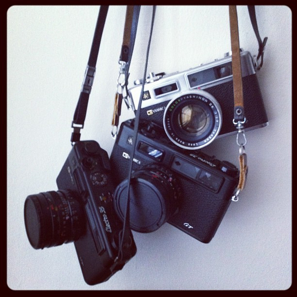 Yashica Electro x3 by Witold Riedel on Flickr.