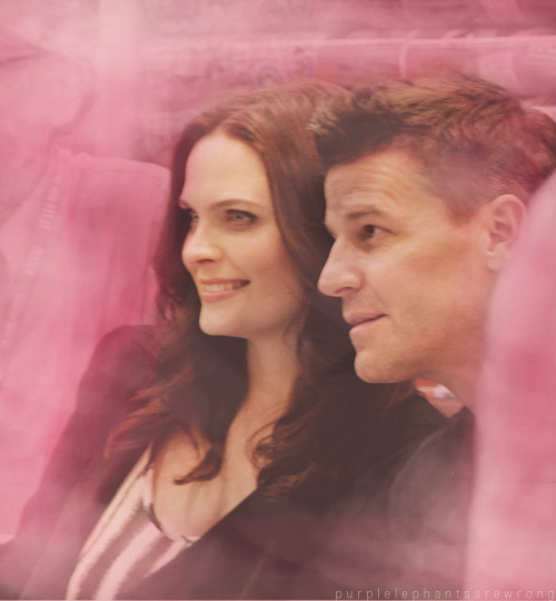 emily deschanel + david boreanaz at comic con 2012