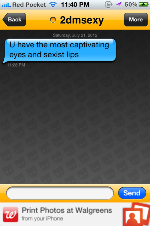 really-grindr:  Wtf. My lips are sexist? I don't think I've ever felt more self conscience  conscious. :(