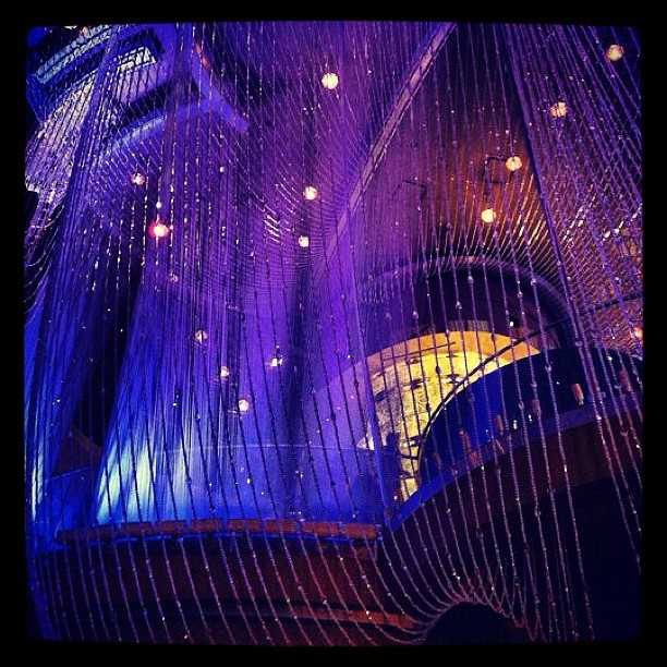 My view tonight. Las Vegas loving. (Taken with Instagram at The Chandelier Bar)