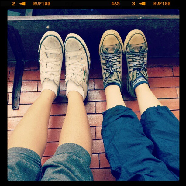 jogging yeyek again #friendship (Taken with Instagram)