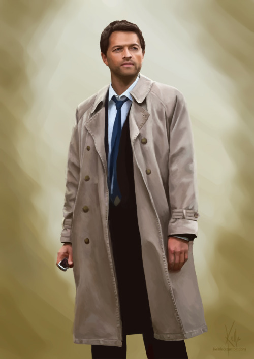 Portrait of a Trenchcoat. EDIT: process gif