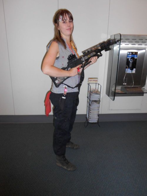 One of the Daryl cosplayers we caught at Comic Con '12