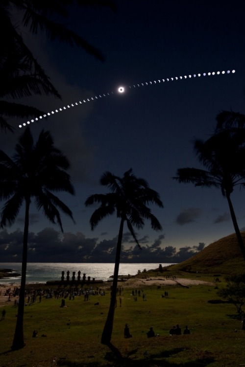 n-a-s-a:  Eclipse on the Beach  Credit & Copyright: Guillaume Blanchard