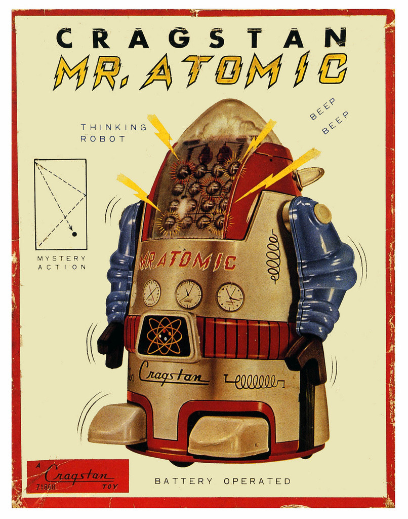 mudwerks:  Mr Atomic, The Thinking Robot (by paul.malon) mystery action…