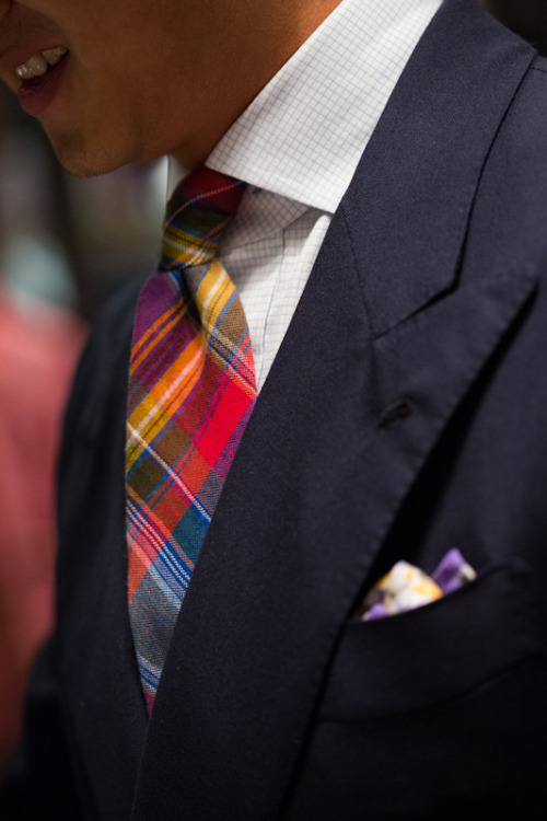 thearmoury:  Drake's Summer Ties - madras HKD 1200 available from info@thearmoury.com