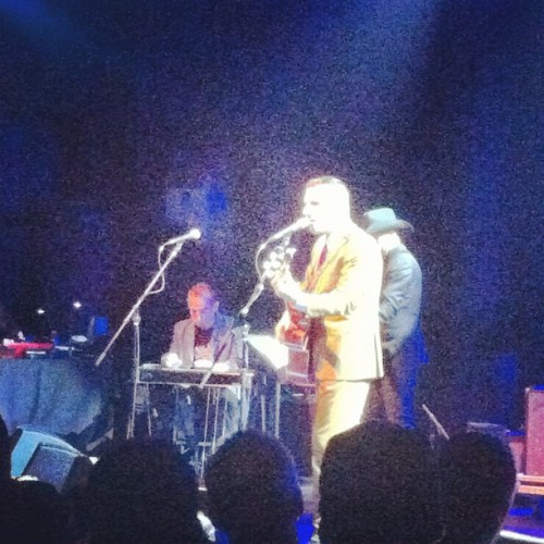 Yes! #Nick13 @ElReyTheatre! (Taken with Instagram at El Rey Theatre) via goldenvoicela