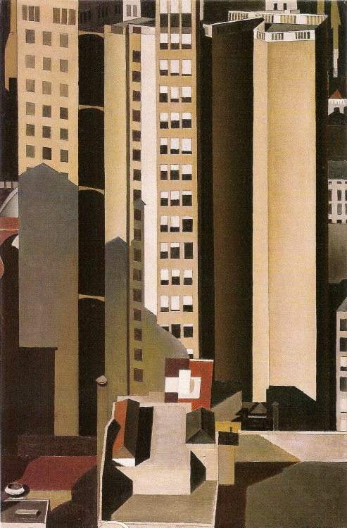 Skyscrapers 1922 Charles Sheeler