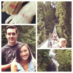 #capilano #lynncanyon BEST DATE DAY EVER (Taken with Instagram)