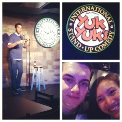 Stand up comedy #yukyuks @coreymccluskey  (Taken with Instagram)