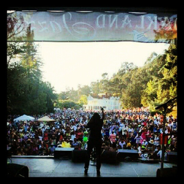 Oakland Jazz Festival @ Dunsmuir Estates  (taken from Ledisi's FB page) (Taken with Instagram)