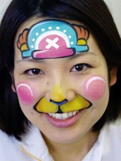 Chopper Face Paint