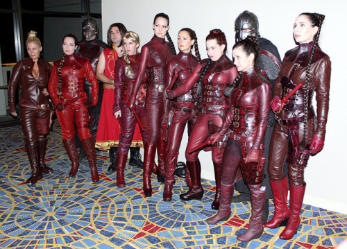 Mord Sith from Legend of the Seeker - Dragon*Con 2011.