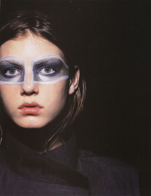 feelthecold:  Jil Sander, Spring 1998 | Angela Lindvall by David Sims
