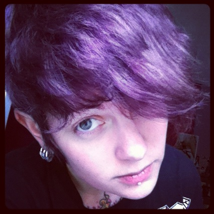 I was a purple girl !