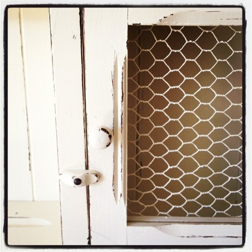 Love! relovedvintage:  Detail #dresser #shabbychic #vintage (Taken with Instagram)