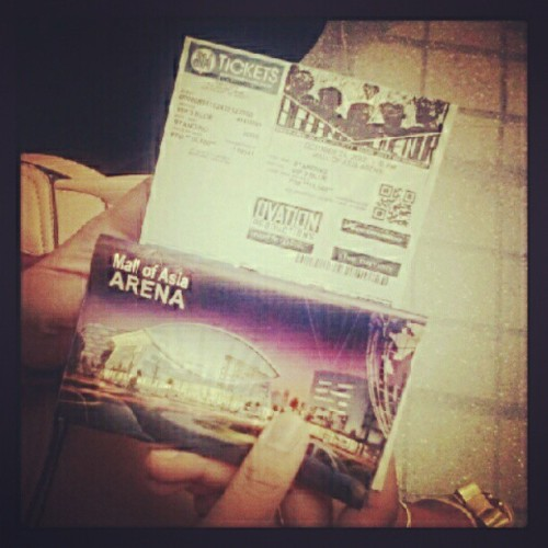 Finally got VIP Tickets for BIGBANG's Alive Tour in Manila ^_^ I shall see you soon @xxxibgdrgn (Taken with Instagram)