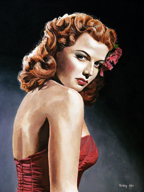 Ann Sheridan by Jo King