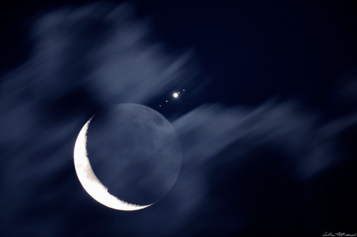 APOD: 2012 July 20 - Moon Meets Jupiter