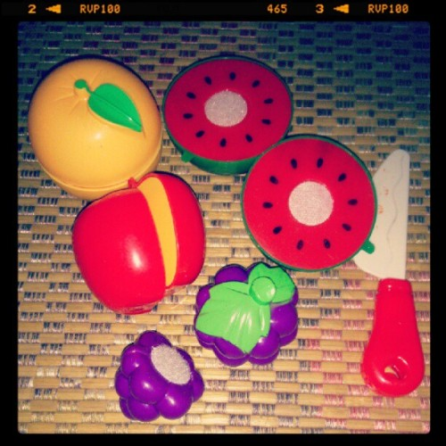 Real punye fruit ninja :D (Taken with Instagram)