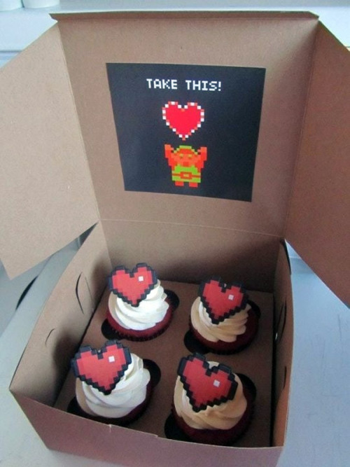 laureola:  Take These Cupcakes, It's Dangerous to Go Alone! (via superlevel)
