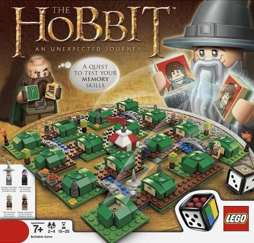 55cards:  The Hobbit: An Unexpected Journey, by LEGO Games / via Brickset, Brickipedia  This looks startlingly like Memory, a game I hate with a passion. I still need it, for reasons.