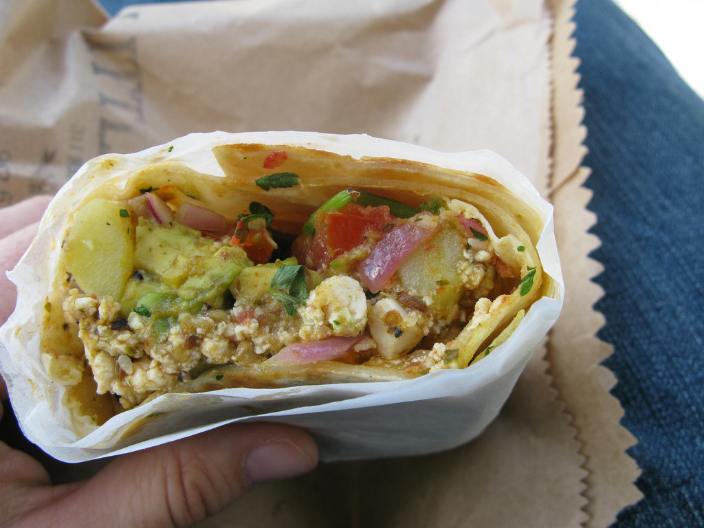 Vegan Breakfast Wrap