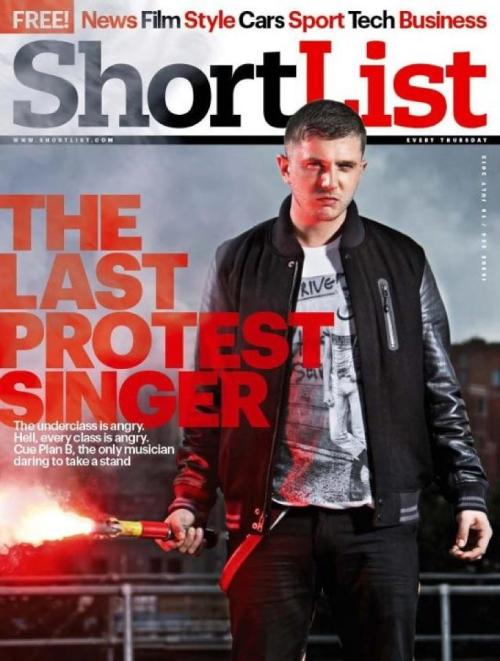 So Plan B and Shortlist magazine have decided they want to rep old Sckrewdriver shirts. Yes, Skrewdriver. Let's put this into perspective.  Skrewdriver was a white power skinhead band formed by Ian Stuart Donaldson in Poulton-le-Fylde in 1976. Their original line-up was a non-political band, but Skrewdriver evolved into the one of the first neo-Nazi rock bands, playing a leading role in the Rock Against Communism movement and becoming the most prominent white power band in the world.  This is beyond fucked up. Shame on Shortlist, and shame on Plan B. Voice of the underdog? That's a bit rich when you're supporting those who'd happily oppress others.  Fuck Nazis, Fuck Racism. EDIT: Firstly, I apologise for initially writing Topshop. I misread the original article and in my anger jumped to conclusions where it was actually only speculative.