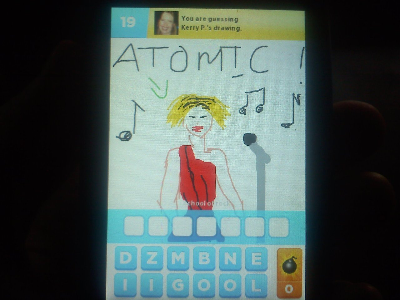 Stuck on Draw Something. Can you help me?