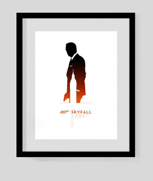BOND x 50 [James Bond 50th Anniversary Posters]