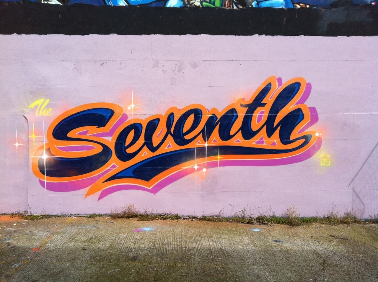spraybeast:  Gary - Seventh Letter