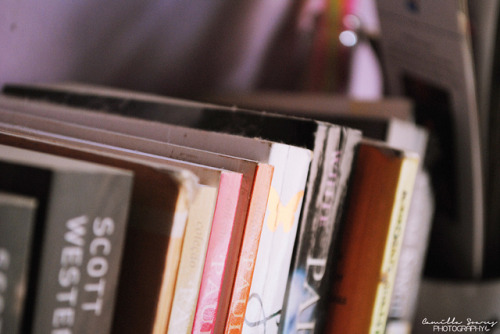 booksfrommyshelf:  On the shelf by Camilla Soares on Flickr.