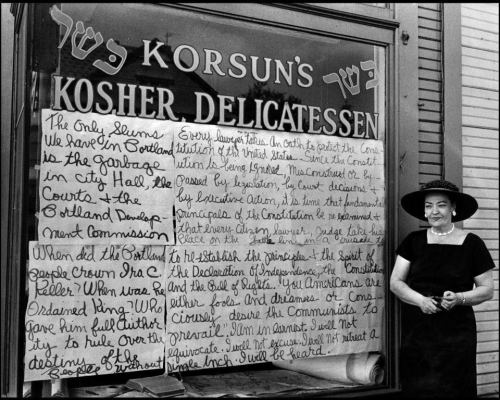 Korsun's Kosher Deli in SW, before urban redevelopment transformed what was Portland's most old-world neighborhood.
