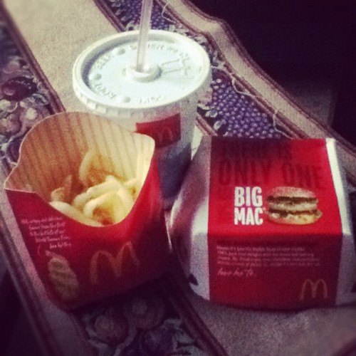 Midnight Feast 🍔🍟 (Taken with Instagram) sundaaay