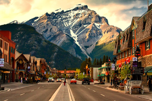 Summer, Banff, Alberta, Canada photo via tumbling