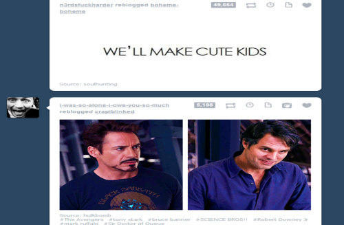 shoes-by-moriarty:  Pretty sure my dashboard ships science boyfriends…  we are still waiting for that