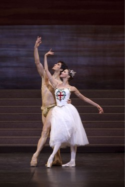 benitah:  Roberto Bolle and Alina Somova in Excelsior.   Day 1 of 365:_I'm not yet Roberto Bolle