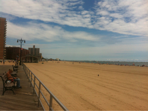 Photo a Day: Day 107. I rode my bike to Coney  Island in Brooklyn, Ny.